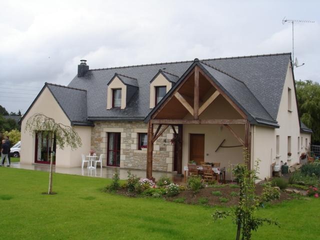 Constructeur maison traditionnelles maison bretonne maison bretagne - Entree bretonne typique ...